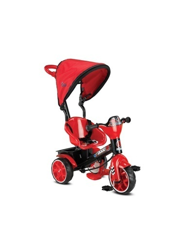 POKY POKY Bebek Çocuk Babyhope 121 Bobo Speed Tenteli 3 Teker Bisiklet Renkli